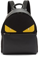 Fendi Bag Bugs leather-panelled backpack