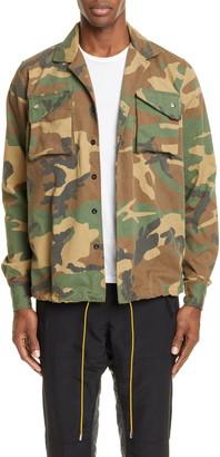Rhude Camo Twill Field Jacket