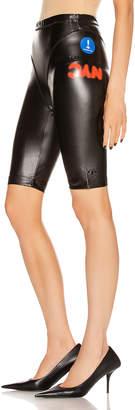 Adidas Originals By Alexander Wang PL Shorts in Black | FWRD