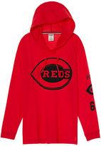 PINK Cincinnati Reds Campus Hoodie Tee