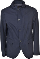 Armani Collezioni Stand Up Collar Jacket