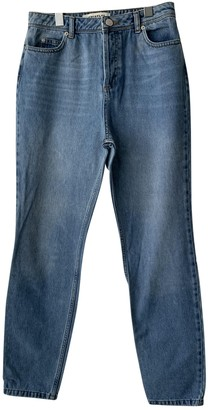 Whistles Blue Cotton Jeans for Women