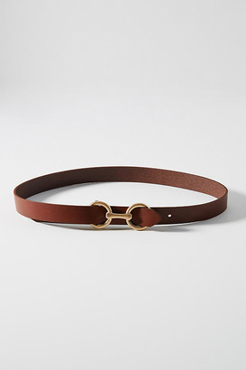 Anthropologie Chantal Leather Belt By in Beige Size S