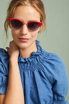 Anthropologie Cat-Eye Clubmaster Sunglasses