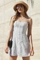 Kimchi & Blue Kimchi Blue Lilyanna Linen Button-Down Dress