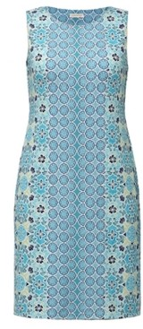 Charter Club Mixed-Print Sleeveless Dress, Created for Macy's