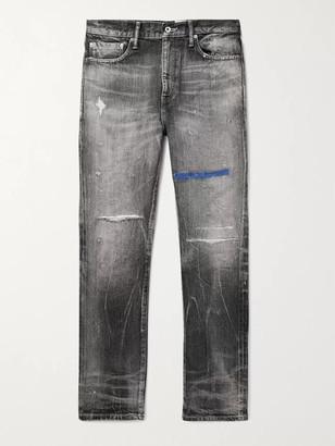 Neighborhood Block Savage Distressed Denim Jeans
