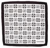 Chanel Coco Silk Scarf