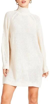 Steve Madden Sweater Mini Dress Cream
