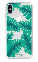 The Casery Banana Leaves iPhone X Case