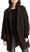 Levi's Carina Wool Mix Coat, Black