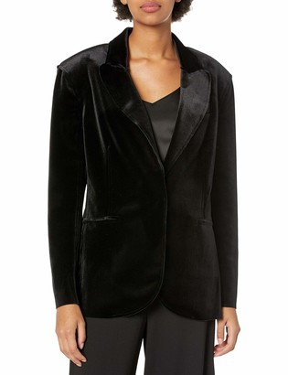 Norma Kamali Women's Single Breasted Jacket (20)