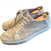 Gucci Grey Leather Trainers