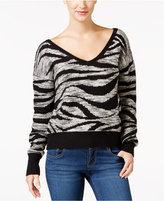 Calvin Klein Jeans Jacquard V-Neck Sweater