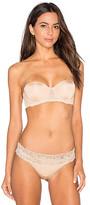 Calvin Klein Underwear Seductive Comfort Strapless Lift Multiway Bra in Beige