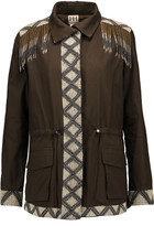 Haute Hippie Beaded cotton jacket