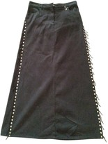 Jean Paul Gaultier Black Cotton Skirts