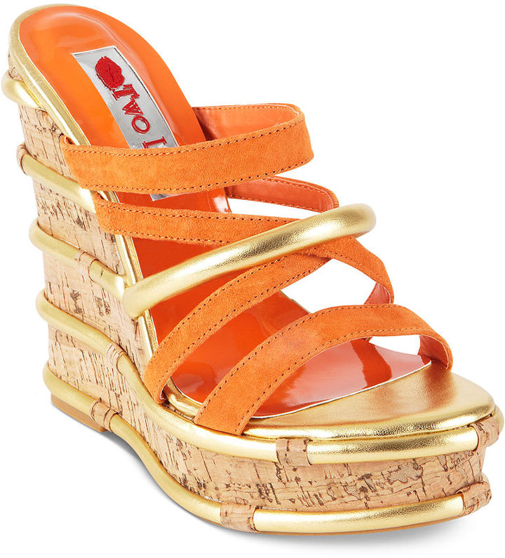 Two Lips Shoes, Mambo Platform Wedges