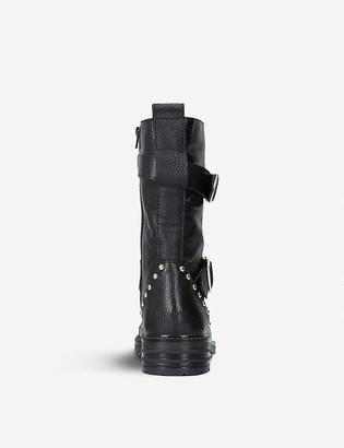 Kurt Geiger Sting leather boots