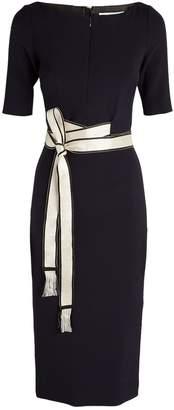 Amanda Wakeley Belted Midi Dress