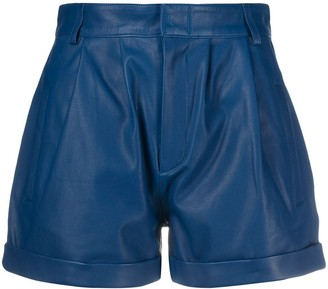 FEDERICA TOSI High-Waisted Pleated Shorts