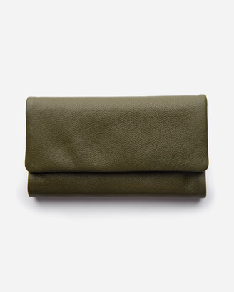 Stitch & Hide - Women's Green Trifold - Paiget Wallet - Size One Size at The Iconic