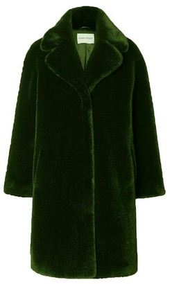 Stand Camille Army Green Coat - DK34 UK8
