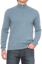 Agave Denim Agave Graftin Zip Neck Sweater (For Men)