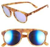 Westward Leaning Women's 'Atlas' 50Mm Sunglasses - Blonde Tortoise Matte/ Violet