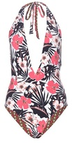 Etro Reversible printed swimsuit