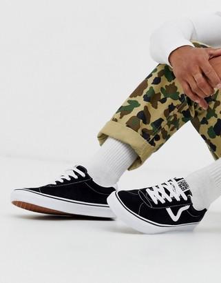 Vans Black Suede Men's Shoes   Shop the