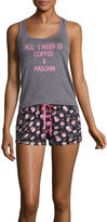 Asstd National Brand Shorts Pajama Set