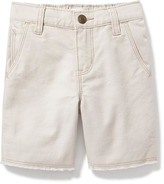 Old Navy Canvas Cut-Off Shorts for Toddler Boys