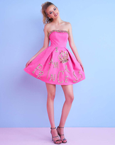Mac Duggal Homecoming - 40693N Strapless Princess Short Dress