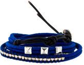 Chan Luu Stud & Nugget Bead Wrap Bracelet