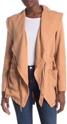 Max Jeans Shawl Tencel Jacket