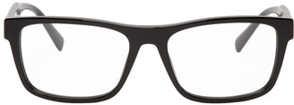 Versace Black Square 90S Vintage Logo Glasses