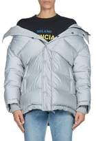 Balenciaga Reflective Down Puffer Jacket