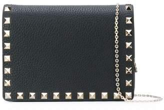 Valentino Garavani Rockstud chain wallet