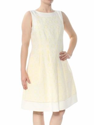 Jessica Howard JessicaHoward Women's Framed Fit and Flare Dress