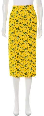 No.21 No 21 Floral Midi Skirt w/ Tags