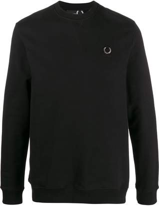 Fred Perry logo plaque sweatshirt