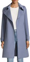 Badgley Mischka Alexis Belted Wool Coat