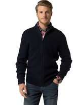 Tommy Hilfiger Ribbed Zip Cardigan