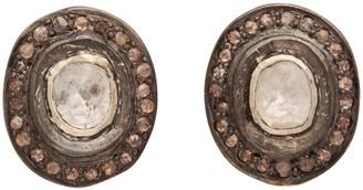 Carousel Jewels Sliced Diamond Heirloom Studs