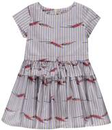 Morley Hannah Striped Ruffle Dress
