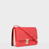 Paul Smith No.9 - Women's Coral Leather Satchel