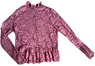 Ganni Pink Top for Women