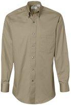 Van Heusen Men's Long-Sleeve Dress Twill Shirt