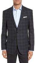 Ted Baker Men's Jay Trim Fit Plaid Wool Sport Coat